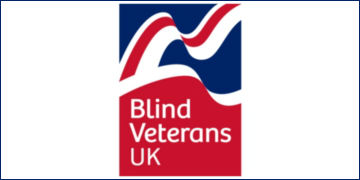 Logo for Blind Veterans UK
